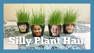 Crafts And Activities For Kids: Silly Plant Hair By ABCmouse.com
