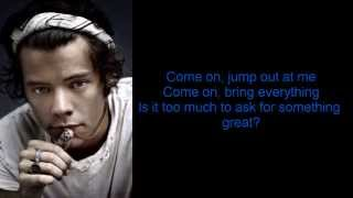One Direction - Something Great (Lyrics + Pictues)