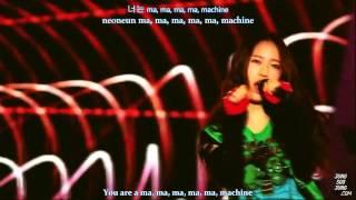 [Krystal] Machine - EXO K [English subs + Romanization + Hangul]