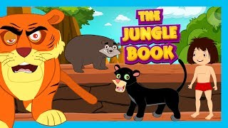 THE JUNGLE BOOK - Full Story (HD) For Kids    Animated Stories For Kids