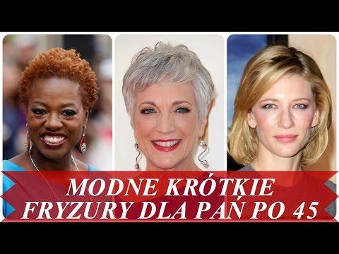 Modne Krótkie Fryzury Dla Pań Po 45 игровое видео смотреть