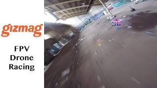 FPV Drone Racing: awesome underground footage