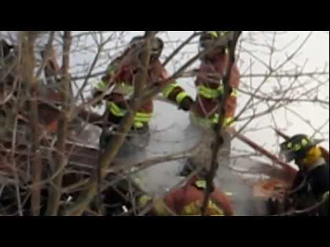 House Explodes in Bath Maine