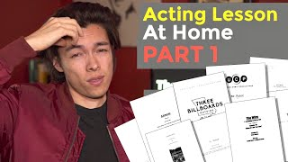 Memorization How To Practice Acting From Home Part 1