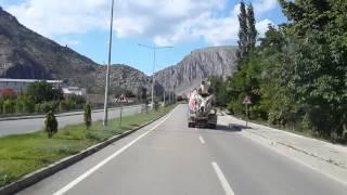 preview picture of video 'Amasya Şehir Mrekezine Giriş'