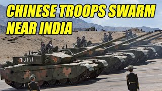 Chinese Troops Mass on Disputed Border with India thumbnail
