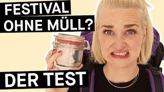 Reality Check: Klappt Zero Waste beim Festival?    PULS Reportage