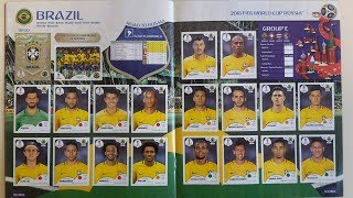 99% Complete 2018 Panini World Cup Russia Stickers Collection: Full 682 stickers version!