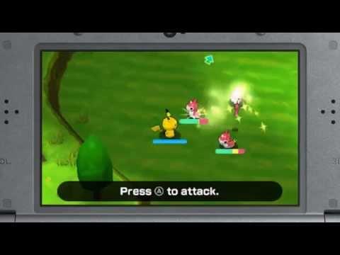 Видео № 1 из игры Pokemon Rumble World [3DS]