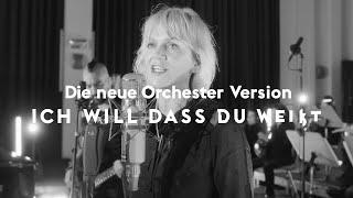 """Video thumbnail of """"Ich will dass du weißt - Anna Loos feat. Deutsches Filmorchester Babelsberg (Offizielles Video)"""""""