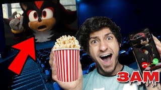 DO NOT WATCH SHADOW THE HEDGEHOG MOVIE AT 3AM!! *OMG SHADOW.EXE CAME TO MY HOUSE*