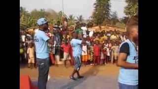 preview picture of video '#Benin #Allada : Les Etudiants d'Attogon en Fête avec Lionel Chobli (Hymne National)'