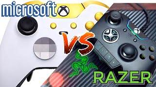 Xbox Elite vs  Razer Wolverine Ultimate (Best Xbox One Controller Comparison)