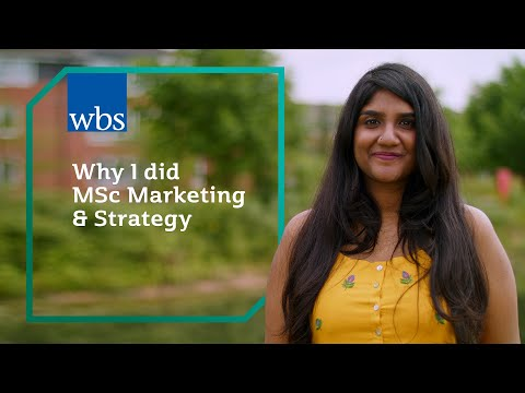 Why I did MSc Marketing & Strategy - YouTube