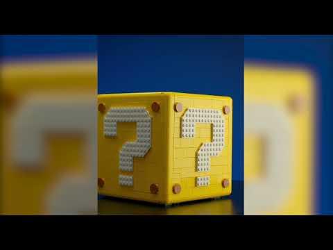 Vidéo LEGO Super Mario 71395 : Bloc point d'interrogation Super Mario 64