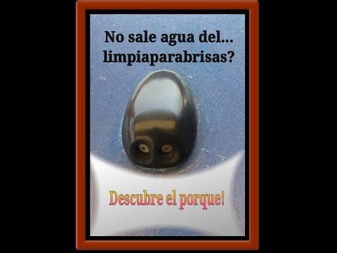 No Sale Agua del Limpiaparabrisas.