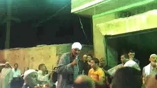 الشيخ محمد غازي مع الشيخ عبد الرحمن عز الدين في مولد جده سيدي عز الدين 2013 وصله3