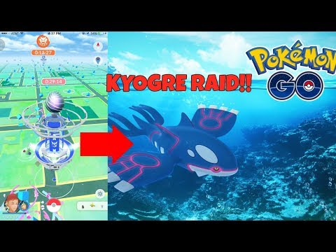Pokemon GO | Last Minute Groudon Raiding And Hitting Level