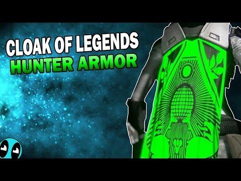 Destiny | Cloak of Legends! (Beautiful New Hunter Cloak)