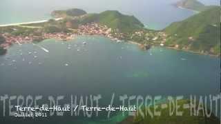 preview picture of video 'Terre-de-Haut en Hélico - Les Saintes'