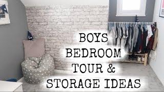 BIG BOY ROOM TOUR & STORAGE IDEAS | BOYS ROOM TOUR | KERRY WHELPDALE