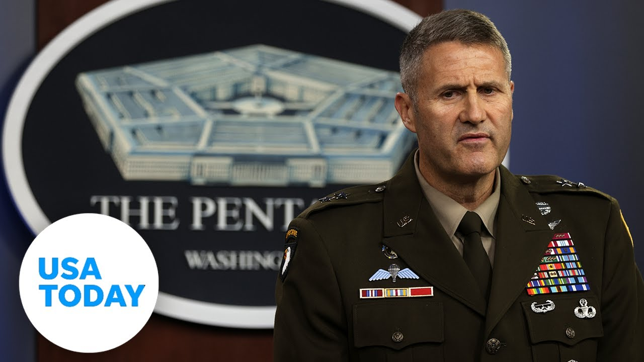 Pentagon holds press instruction to talk about circumstance in Afghanistan|U.S.A. TODAY thumbnail