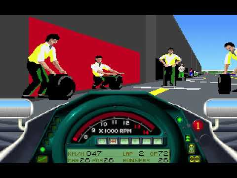 MicroProse Formula One Grand Prix Geoff Crammond French Grand Prix Round 7 (F1 1991)
