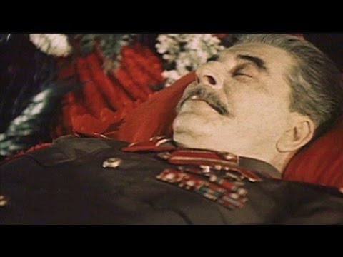 Stalins FuneralRare Colour Footage Moscow 1953  All Points of View