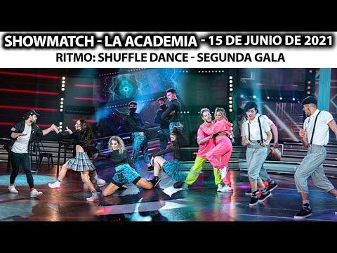 Showmatch - Programa 15\/06\/21 - Ritmo SHUFFLE: Karina, Cachete Sierra, Rocío Marengo y Angela Leiva