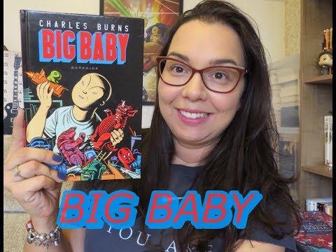Big Baby por Charles Burns| Editora Darkside | Leitura Mania