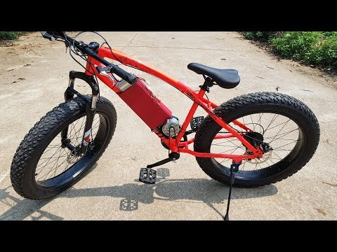 DIY Electric Bike – Power assisted bike at home