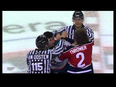 Josh Thrower vs Tyrell Goulbourne