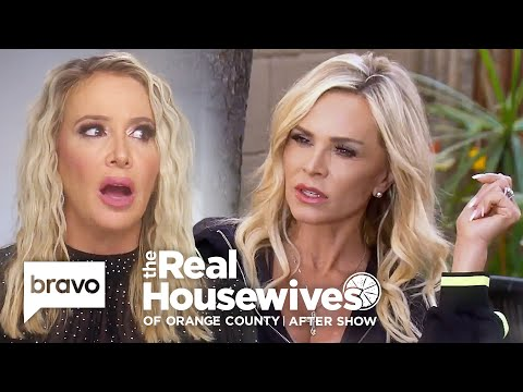 Tamra Judge Reveals the Real Source of the Train Rumor   RHOC After Show (S14 Ep15)