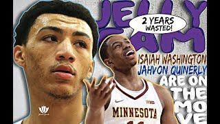The Jelly Fam ISAIAH WASHINGTON and JAHVON QUINERLY are on the MOVE!