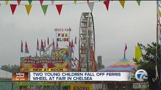 Two children hurt in Ferris wheel fall