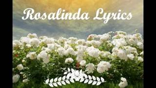 Thalia - Rosalinda Lyrics (With English Translation)