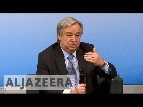 UN chief visits Israel to seek ways for peace