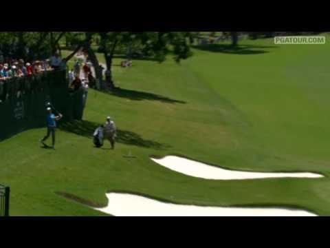 Shot of the Day: Parker McLachlin makes birdie from hillside at Colonial