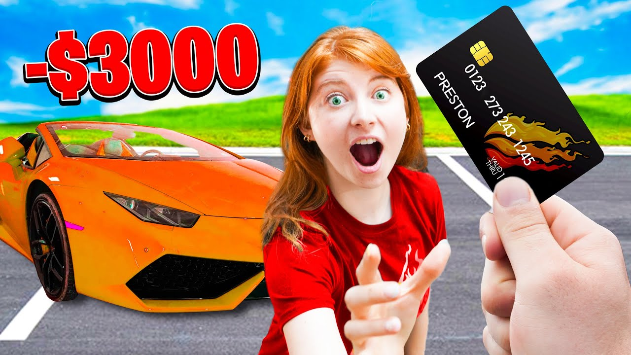 Changing Credit Cards with PRESTON for a 24 HR! thumbnail