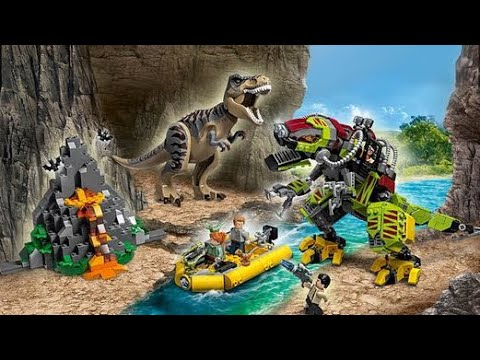 LEGO Jurassic World T-Rex vs. Dino-Mech Battle 75938