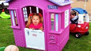 Видео для детей ЛУЧШАЯ Детская Комната Funny Outdoor Playground for kids Children
