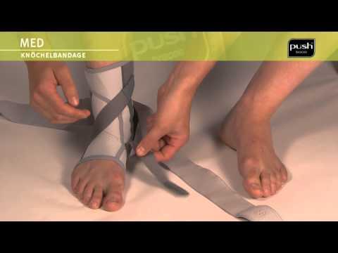 Push Braces | med Knöchelbandage