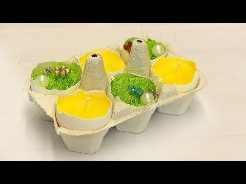 """MIGROS: Oster-Dekoration """"Das Gelbe vom Ei"""""""