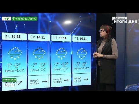 Прогноз погоды (09.11.18) видео