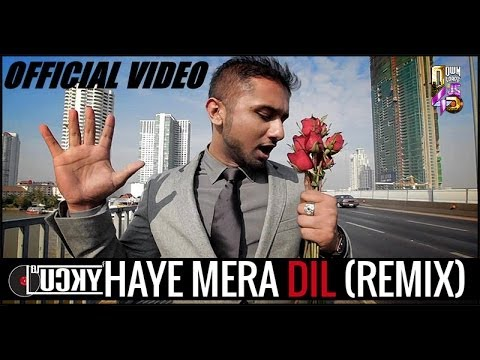 Haye Mera Dil (REMIX) - DJ LUCKY (Ft.Yo Yo Honey Singh) | HARSHIL PALSANA VISUALS