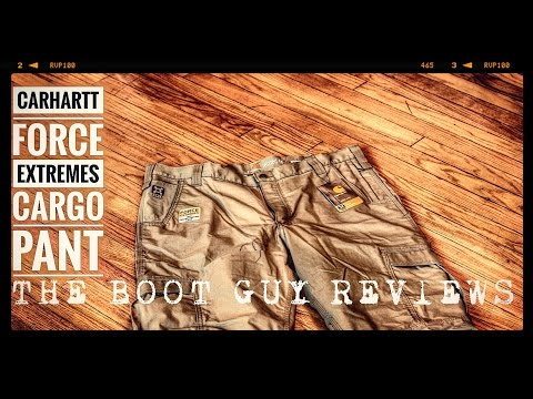 CARHARTT FORCE EXTREMES CARGO PANT [ The Boot Guy Reviews ]
