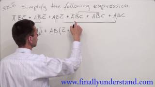 Digital Logic - Boolean Algebra (SOP)