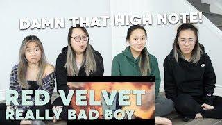 "MV REACTION   Red Velvet (레드벨벳) ""RBB (Really Bad Boy)"""