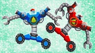 DRIVE AHEAD #12 БИТВА за НОВЫЙ ГОД Мульт Игра для детей про сражения ТАЧЕК Разбей голову противнику