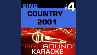 If My Heart Had Wings (Karaoke with Background Vocals) (In the Style of Faith Hill)